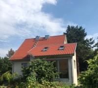 Anbau mit Holzfenstern; Halle/S., Anemonenweg
