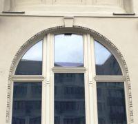 Große Holzfenster / Denkmalschutz Halle/S., Franckestraße