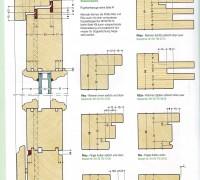 Holztür Holzeingangstür Holzhauseingangstüren Werkzeuge