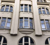 Holzfenster / Denkmalschutz Halle/Saale, Leipziger Straße