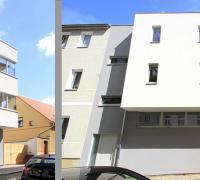 Moderne Holzfenster für MFH Halle