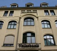 Holzfenster nach denkmalpflegerischen Gesichtspunkten, Volksbank Halle/S.