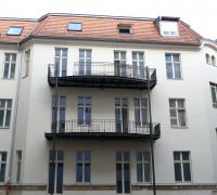 Holzfenster Leipziger Straße in Halle