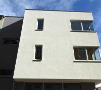 Moderne Holzfenster Mehrfamilienhaus Halle