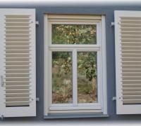 Standardfenster mit Kämpferzierprofil