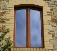 Stichbogenfenster Holz, Schwittersdorf, Saalekreis