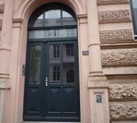 Historischer Nachbau einer HET, Hamburg, Zeiseweg 45