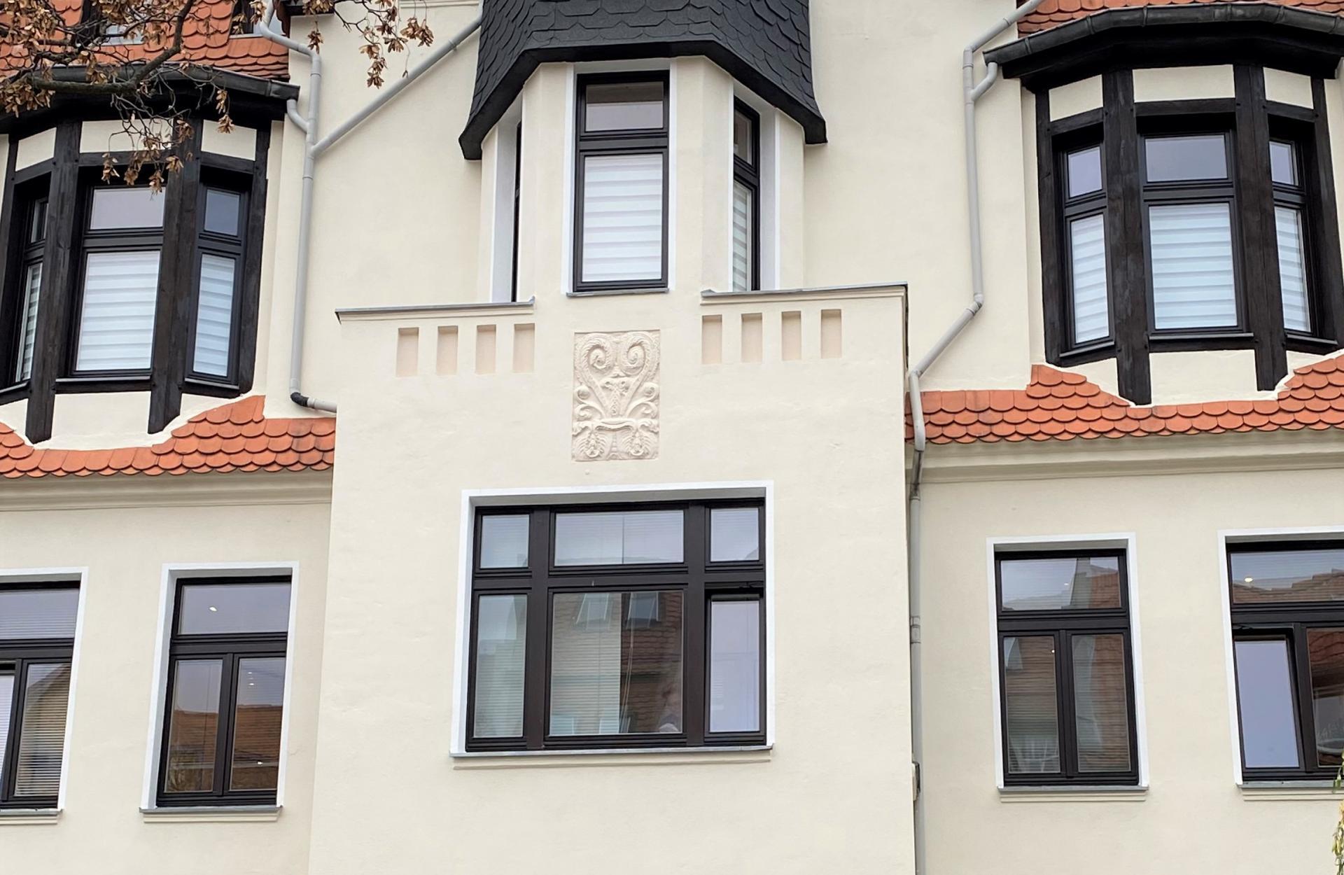 Holzfenster in Halle Röpziger Str.